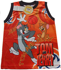 Tom and Jerry Playing Ball  Vest top boys girls kid Casual novelty Cartoon  it 3