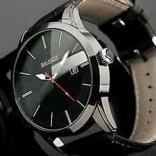 New Men's Black Steel Fashion Style Man's Men Army Sport Mens Quartz Wrist Watch