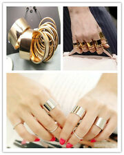 New HOUS 9PCS Fashion Simple Cute Above Knuckle Ring Band Midi Ring Set