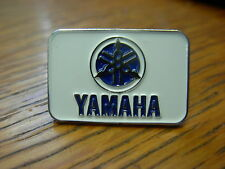 Yamaha Motorcycle pin badge. Choice of colours red or blue  Japanese motorcycle