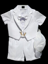 Boys Infant, Toddler Christening Baptism Outfit Set, Size: Small to 4T