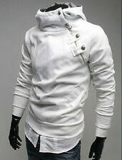 Men's Assassin's Casual Slim Fit Sexy Top Designed Hoodies Jackets Coat Outwear