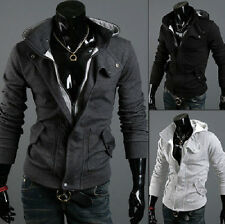 Optional New Assassin's Creed III 3 Desmond Miles Cosplay Costume Hoodie Coats