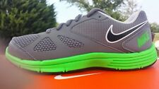 NEW NIKE DUAL FUSION TR 4 555599 004 CL Grey/Green-Pr Sneakers Shoes Kids, Youth