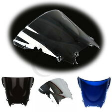 New Windshield Windscreen Double Bubble For YAMAHA YZF R6 1998-2002 99 00 01