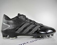 New Mens Adidas CrazyQuick Low TD Football Cleats Black Reflective Grey G59940