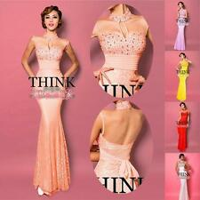 2014 Evening Gown Bridesmaid Prom Bodycon Long Formal Cocktail Party Ball Dress