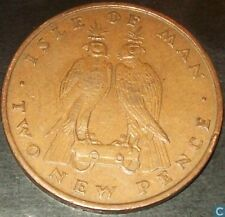 Isle Of Man 2 Penny Two Pence Coins Channel Islands IOM 2p