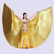New Handmade Belly Dance Costume IsIs Angle Polyester Wings 5 colors