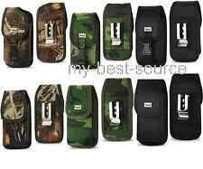 Holster Pouch With Metal Belt Clip For Lifeproof iPhone 4/4s/5/5s/5c Case On it