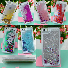 New Dynamic Glitter Star Liquid State Quicksand Case Cover For Apple iPhone 5 5S