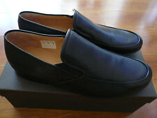 NIB BALLY HAVANNA-NEW/20 BLACK CALF PLAIN LEATHER SHOES SZ 11, 11.5