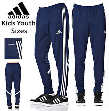 Adidas Kids Youth Condivo 14 Soccer Pants Climacool Black White Athletic Fit