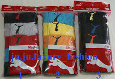 Puma Men's Briefs 5 Pack Low Rise Sport Underwear New w Tags S M L XL Retail $32