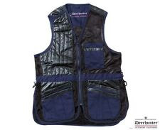 Deerhunter champ lux solid back right handed clay skeet shooting vest