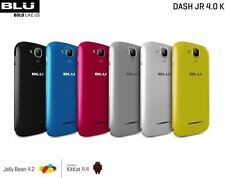 BLU Dash Jr 4.0 K D143K Android 4.4 KitKat Unlocked GSM Phone New ALL COLORS