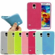 For Samsung Galaxy S5 i9600 Fashion Candy Color TPU Soft Case Cover High Quality