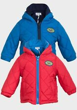 BABY BOYS BABALUNO HOODED PUFFA JACKET/COAT WINTER SIZE 0-3, 3-6, 6-9 & 9-12 mth