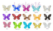 "12 pcs 22""x15"" Fairy Wings Butterfly TinkerBell Pixie Dress Up Costume"