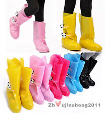 Newest Kids Toddler Boy's Girl's Cute Rain Boots Outdoor Rubbers Galoshes Shoes
