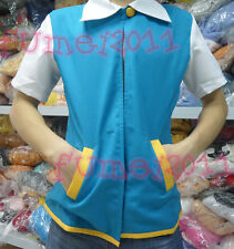 New Hot Pokemon Ash Ketchum Trainer coat/jacket/costume cosplay fan Custom made