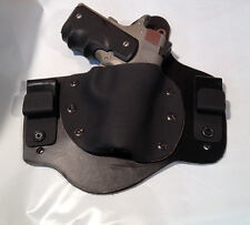 NEW  MTO  LEATHER LINED Kydex IWB conceal carry holster