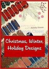 Jamberry Nails- Winter and Christmas Designs- Half Sheets and Jam Jrs 1/3 Sheets
