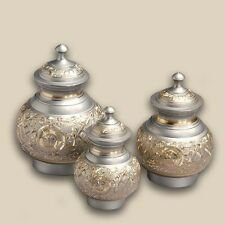 Darling Silver Engraved Pet Brass Cremation Urns