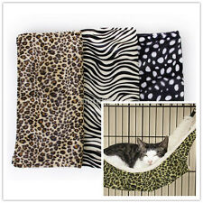 Pet Hammock Hanging Bed in Faux Fur for Car Dog Perching -3 Style -Support 15kg