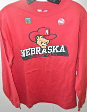 new NEBRASKA CORNHUSKERS Boys  L/s Graphic T-shirt (Authentic  University-T)