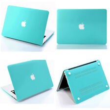 Turquoise Matt Rubberized Hard Case For Macbook Air Pro 11'' 13'' 15'' Retina