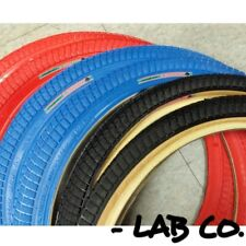 Pair Primo V Monster 20 x 1.95 Old School Tires Red Blue Black Skinwall Duro CST
