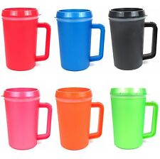 Thermo-Serv 22 oz Super Thermo Insulated Beverage Travel Mug With Lid