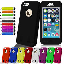 New Heavy Duty Shockproof Dirtproof Case Cover for Apple iPhone 6 5S 5 4 4S
