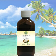 Coconut Oil 100% Pure & Organic Cold Pressed Raw - Fresh High Quality Life Force
