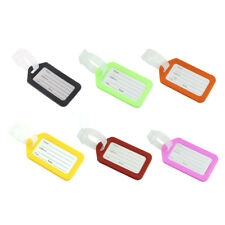 1PC Travel Luggage Suitcase Baggage Travelbag Address Plastic Lable Tags New