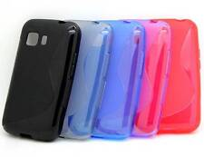 New S-Line Wave Soft TPU Gel Cover Case Back for Samsung Galaxy Young 2 SM-G130