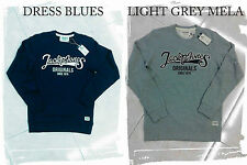 FELPA Uomo girocollo classic crew neck sweat Jack & jones  S M L XL