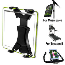 Universal Tablet Microphone Music Stand Mount Holder Bracket Clip Adjustment 360