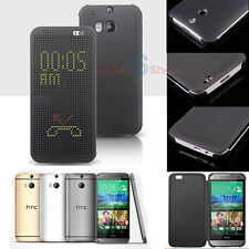 New!Genuine Official HTC HC M100 M110 Dot S View Case Cover for HTC One M8 / E8