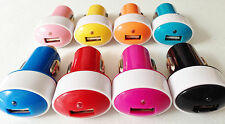 Lot  2A ELIPSE OVAL CAR chargers usb FOR apple iphone 6 4 4s 5 5s ipod galaxy s4