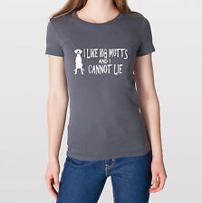 I LIKE BIG MUTTS American Apparel Ladies T-shirt marmaduke great dane mastiff