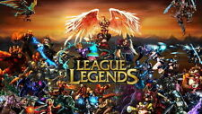 League of Legends Hot Online Video Game Poster Print A4 A3 LOL02
