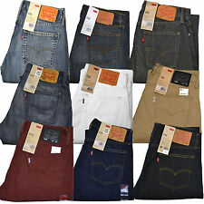 Levis 514 Straight Fit Pants Trousers Men's NWT U Choose Size Color Many Choices