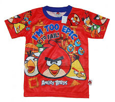 ANGRY BIRDS I'M TO EPIC TO FAIL  T-Shirt  Boys Girls Kids Jersey  Top  it 19