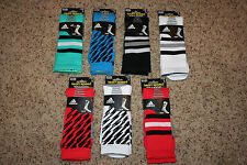 Men's Adidas Team Speed Traxion Socks Climalite Large Crew