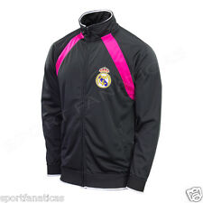 REAL MADRID JACKET BLACK  Authentic official licensed product NEW 2014-2015