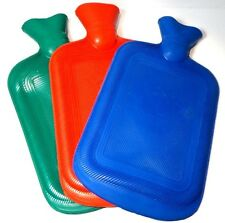 Thick Rubber Hot Cold Water Bottle Bag Warmer Relaxing Heat Therapy Red Flag