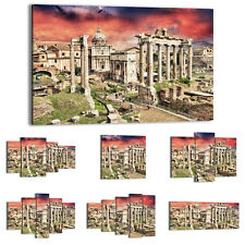 Canvas Print Framed Picture 47 Shapes Wall Art ruins of the old town 2431 UA