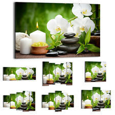 Canvas Print Framed Picture 47 Shapes Wall Art flowers stones feng shui 2718 UA